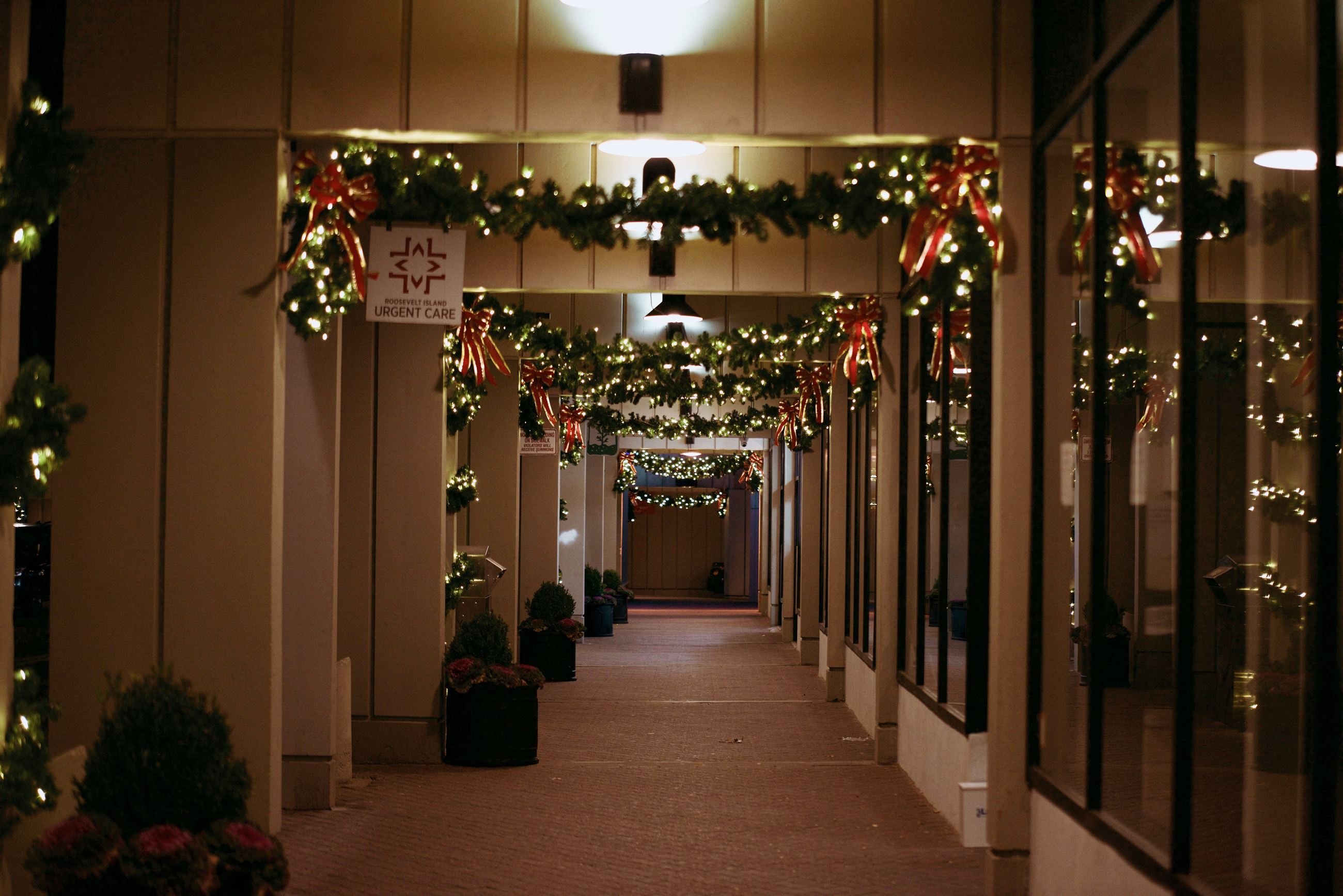 Main Street Corridor Decorated