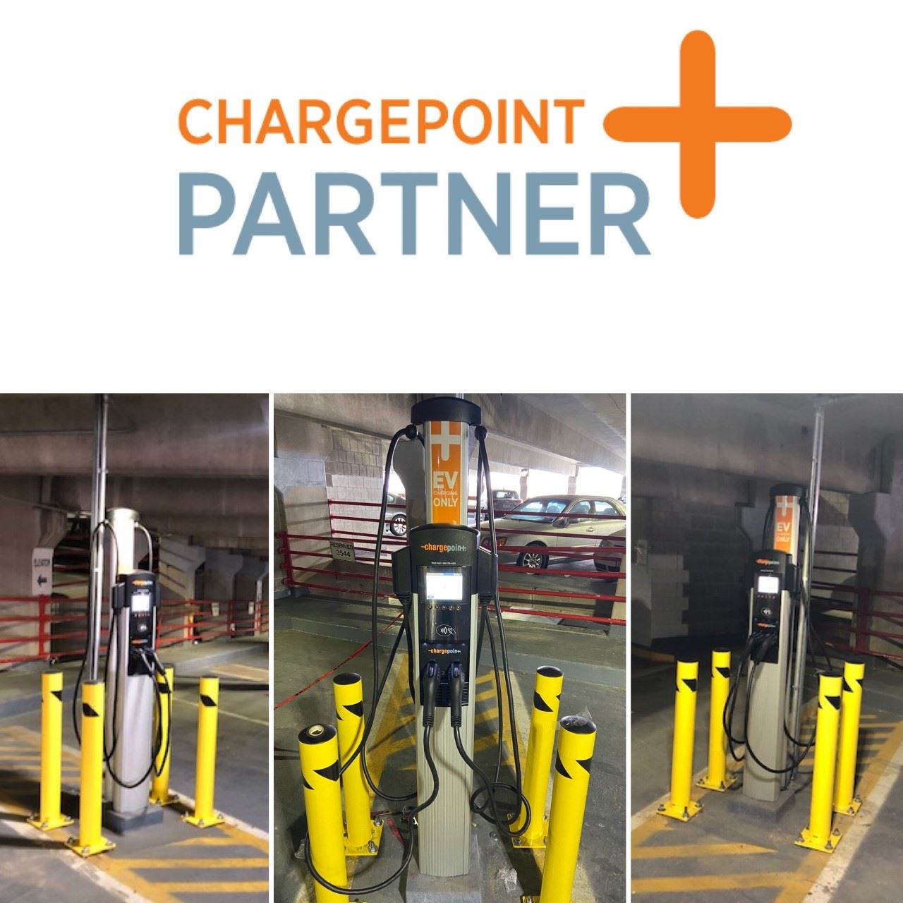 Electric Vehicle ChargePoint Motorgate Stations